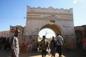 One of the gates of Harar