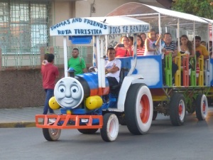 Adults' fun train